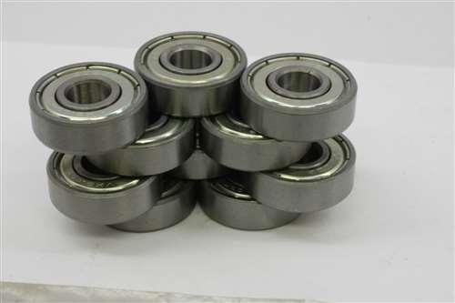 10 Bearings 2 x 6 x 3 Flanged Ball Bearing 2x6 Shielded