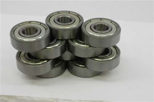 "Stainless Steel Ball Bearing Bearings R168zz 1//4/"" x 3//8/"" x 1//8/"" 10 PCS SR168ZZ"