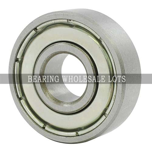 50mm OD 80mm Width 16mm 6010-2RZ Radial Ball Bearing Double Shielded Bore Dia
