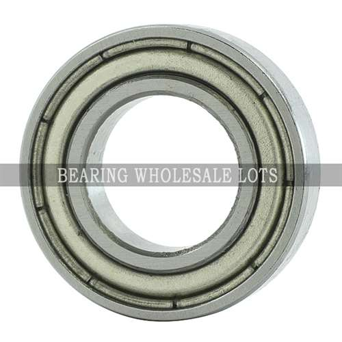65mm OD 100mm Width 18mm 6013-2Z Radial Ball Bearing Double Shielded Bore Dia